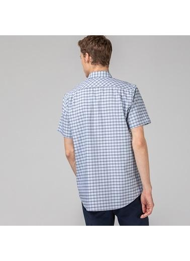 Lacoste Erkek Regular Gömlek CH6945.X1J Mavi